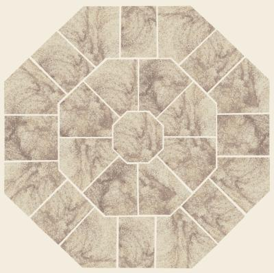 Cleveland Quarries Berea Sandstone - Octagon Pattern Sandstone Patio Design